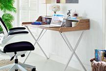 escritorios y biblotecas