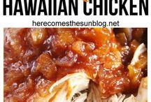 Hawaiian chicken crock pot recipes