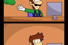 Mario et luigi odyssée humour
