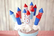 Fourth of July Fun / Food and crafting fun to celebrate Independence Day!