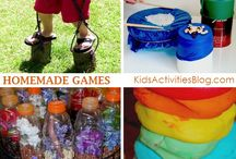 Games and Activities for Kids / by Amy @ Child Central Station