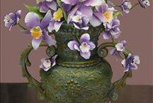 CAKE - flower cake - vase,...
