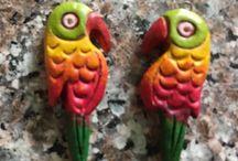 Teracotta Jewellery / Handmade Teracotta Jewellery