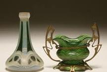 secesní vázy - Loetz