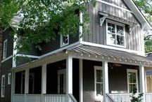 outside home remodel / by Mamie Ameling