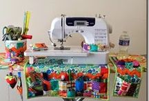 Sewing/ Crafting Decor & Organization / I'm working on desiging the perfect sewing space.