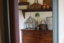 Wipe your boots and paws...Mudroom
