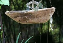 Garden - wind chimes, spinners & sun catchers - ideas