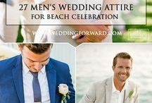 Tenue du marié pour mariage à la plage / Groom wedding beach