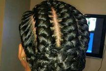 Thick braids