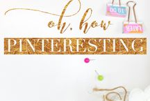 Oh, How Pinteresting | Link up!