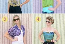 ideas to reuse the cloths in style