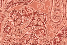 Paisley pattern design / Inspiration for the paisley pattern design style.