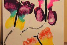 farfalle piedi