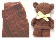 teddy bear towel
