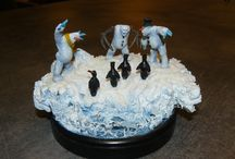 My finished projects: Evil Snowmen,Copplestone Collection on North Star Miniatures, 28mm