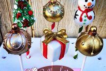 Popcake's / Kerstpopke's