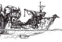NGI - Concept Sketches / A selection of concept sketches.