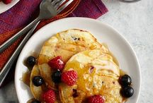 Butter milk pan cakes