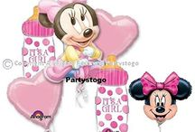 MINNIE MOUSE BABY SHOWER PARTY / MINNIE MOUSE BABY SHOWER PARTY