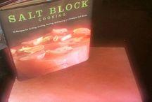Salt block cooking