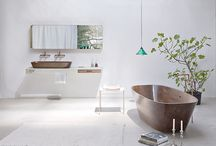 NINA MAIR Shell | Furniture Design / SHELL Pure Luxury Spa | 2014 | Hand-Polished and Oiled Walnut Bathtub & Basin | Furniture Design | by Nina Mair see at: www.ninamair.at |