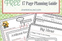 Homeschool Planners / Planners, Schedules, lists that help run homeschool days run smoothly.