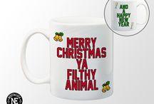 Christmas Holiday Mugs