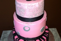 Cakes with Bling / All things sparkly from our master cake decorators at SweetStory / by SweetStory Bakery