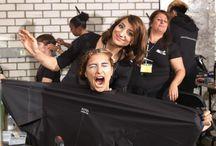 Fashionclash 2012_BACKSTAGE / Feathers & Lashes Hairstyling team @Fashionclash