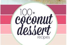 Coconut recipes / Desert and cookies