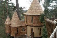 tree houses/ forts