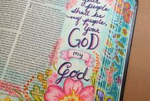 Bible Journaling / Bible Journaling Ideas