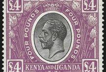 Kenya and Uganda Stamps