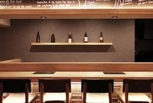 Restaurants, Cafés, Lounges / by Sonia Jerez Rouleau