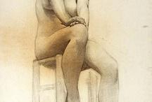 Рисуем девушку