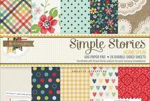 SIMPLE STORIES SN@P! - HOMESPUN / LOMMESCRAPPING - HURTIGSCRAPPING - Album på en enklere måte.