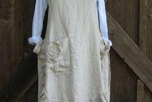 Schort jurk