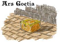 Concept Art - Ars Goetia / Concept Art do jogo homônimo ainda em desenvolvimento.