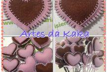 Artes em feltro / Meu novo hobby!!