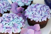 flores para tortas