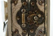 Altered Altoid Tin Book