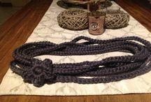 Collane di meri e dintorni / Collane in lana