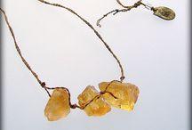 Jewelery with stones
