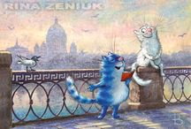 Cats of Zeniuk Rina / About Cat's life