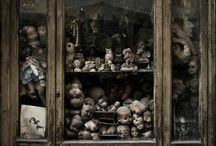lost dolls / where dolls get lost, left behind, misplaced.....