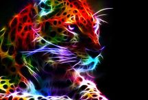 Fractal Art Animals / ''In the mind's eye, a fractal is a way of seeing infinity''. James Gleick