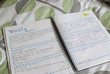 DIY Planners and Recipe Books / by Whitney Berg-Brown
