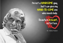 A.P.J Abdul Kalam / I love these quotes