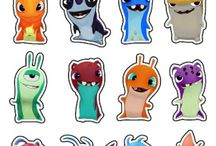Party / Playdate themed ideas - Slugterra